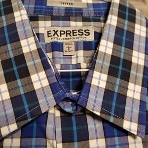 Express 16/16.5 Fitted Collar Shirt